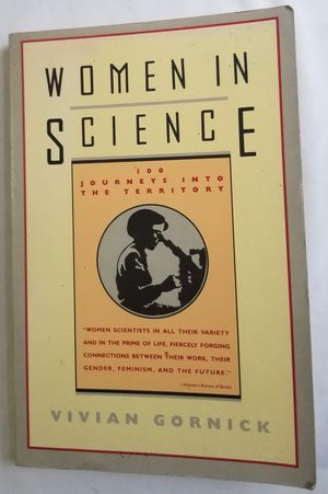 Women in Science Vivian Gornick Paperback Book for Sale in Three Rivers, MI
