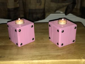 Color Pegged Candle set for Sale in Chesapeake, VA