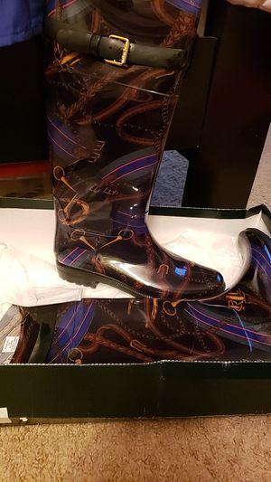 Ralph Lauren Rain Boots for Sale in NEW CARROLLTN, MD