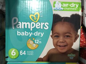 Pampers baby Dry Size 6 for Sale in Miami, FL
