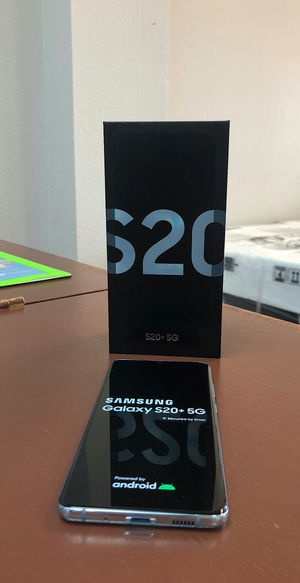 Samsung Galaxy S20 Plus 5G - 128Gb - Brand New In Box / Like New - Factory Unlocked - Starting @ for Sale in Arlington, TX