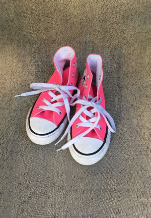 Hot pink high top Converse, size 11 for Sale in Spokane Valley, WA