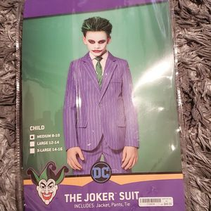 Joker Kids Costume And Staff for Sale in Los Angeles, CA