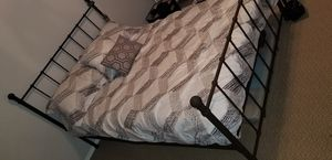 Full size black bed frame for Sale in Battle Ground, WA