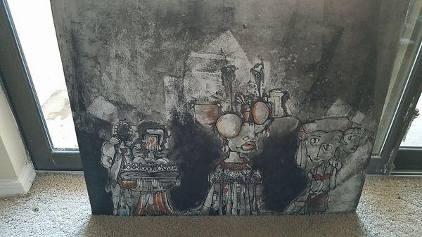 "Beautiful abstract art 24"" w × 20"" h"