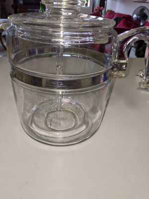 Large Vintage Pyrex glass tea pot for Sale in Mount Vernon, NY