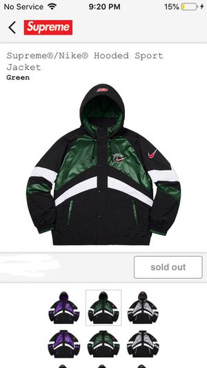 Supreme Nike Hooded Sports Jacket for Sale in Grove City, OH