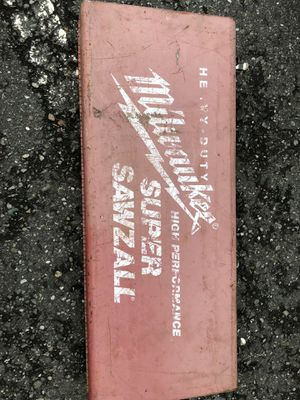 Milwaukee 15.0 Amp Super Sawzall Reciprocating Saw for Sale in Lynnwood, WA
