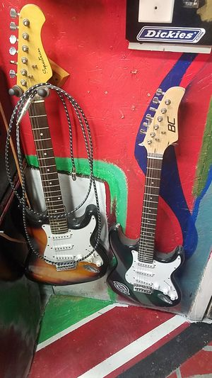 6 string guitars and 15 watt amp for Sale in Ashley, OH