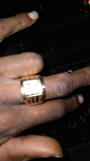 18 k ring size 9 are lil bigger can get size for Sale in Stockton, CA