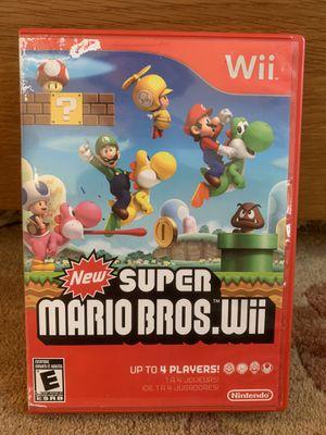 SUPER MARIO BROS Wii video game for Sale in Pleasanton, CA
