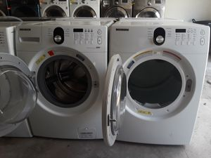 Samsung White Washer And Dryer for Sale in Austin, TX