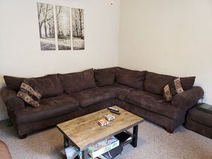 Sofa/Couch plus chair and ottoman for Sale in Pittsburgh, PA