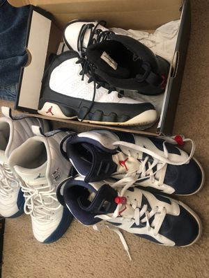 $150 for all three of these Jordan's size 7 for Sale in Atlanta, GA