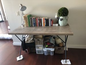 rustic west elm desk! for Sale in Portland, OR
