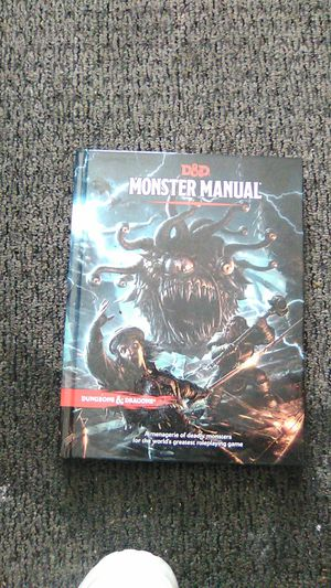 Monster Manual Dungeons And Daragons Edition Book for Sale in Washington, DC