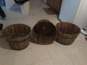 Plant barrels for Sale in San Antonio, TX
