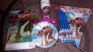 Moana Party Kit for 20 guests for Sale in Grand Prairie, TX