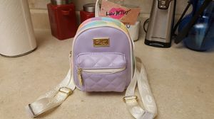 Betsey Johnson backpack purse for Sale in St. Petersburg, FL