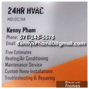 24HR HVAC for Sale in Chantilly, VA