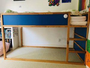 Ikea loft bed , twin mattress for Sale in Hayward, CA