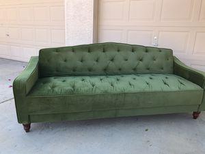 Gorgeous Green Felt Futon for Sale in Mesa, AZ