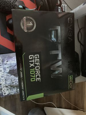 1070 FTW 8gb graphics card for Sale in Elk Grove, CA