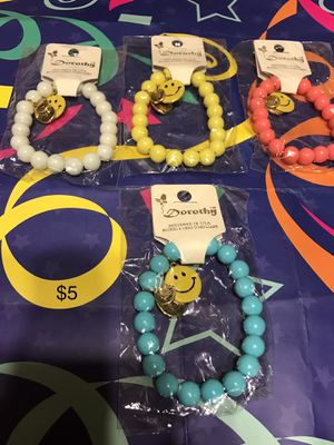 Charm bracelets with smiley face for Sale in Detroit, MI