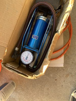 Foot actuated air pump for Sale in North Highlands, CA