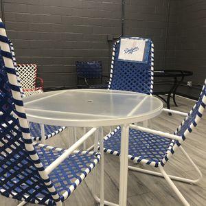 Dodgers Patio Set for Sale in Burbank, CA