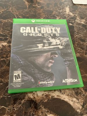Xbox One Game Call Of Duty Ghosts for Sale in Stafford, VA