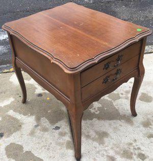 Vintage 2 Drawer End Table for Sale in Philadelphia, PA