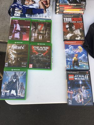 Video Games for Sale (Xbox One & PS2) for Sale in Corona, CA