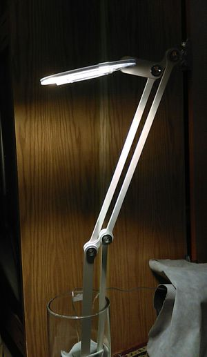 Pablo Link / Peter Stathis pantograph task lamp for Sale in New York, NY
