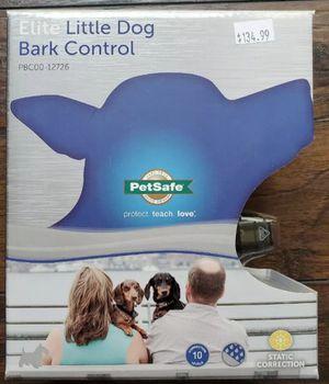 NEW- Petsafe Elite Little Dog Bark Control Collar for Sale in Mesa, AZ