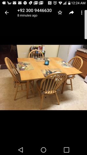 Dining table country style for Sale in Leesburg, VA