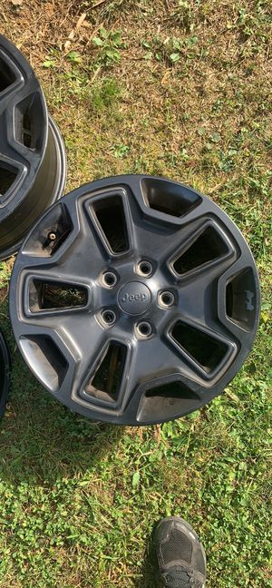 Jeep wrangler wheels set of 4 for Sale in Charles Town, WV