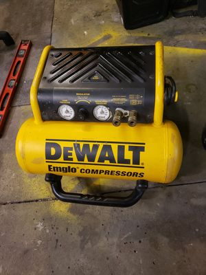 Dewalt air compressor D55155 for Sale in Hilliard, OH
