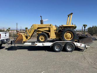 Massey Ferguson Diesel Tractor / Skip Loader And Trailer, for Sale in Phelan,  CA