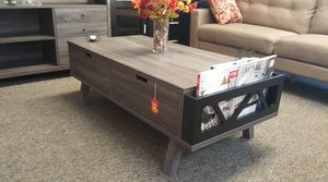 CMC Coffee Table , Distressed Gray & Black, SKU #151344CT for Sale in Downey, CA