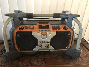 RIDGID R8408 Jobsite Radio 120V for Sale in National City, CA