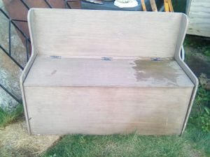 Bench w/ storage for Sale in Backus, MN