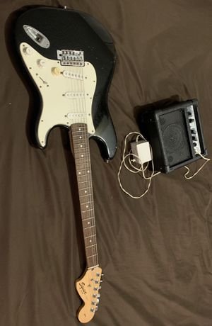 Squier Strat by Fender Electric Guitar for Sale in Cutler Bay, FL
