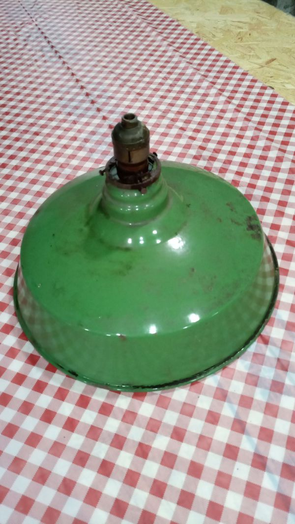 Vintage industrial style light fixture