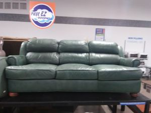 Leather sofa and ottoman for Sale in Phoenix, AZ