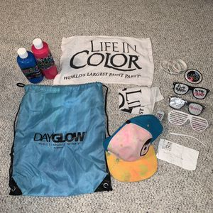 DayGlow/Life In Color Gear for Sale in Alexandria, VA