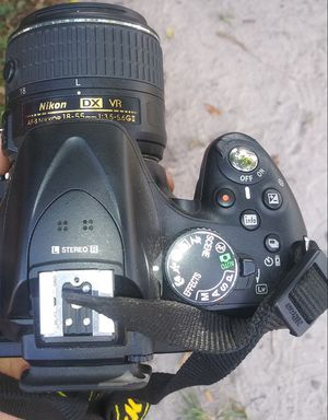 Digital Nikkon Camera with Lens for Sale in Orlando, FL