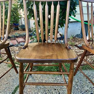 Vintage Antique Bentwood Dining Chairs! for Sale in Tacoma, WA