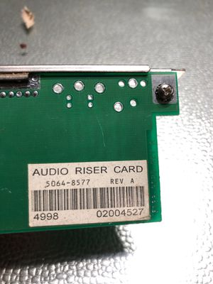 AUDIO RISER CARD for Sale in Stafford Township, NJ