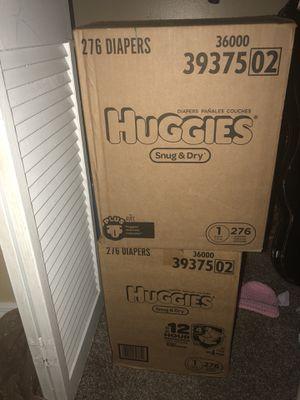 "HUGGIES ""Snug &Dry"" box of 276 for Sale in Winter Garden, FL"